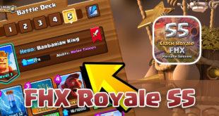 FHX Royale S5 - новые карты и герои на сервере